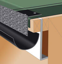 About Rapid Drip Former Edge Trim For Felted Flat Roofs